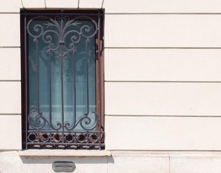 Grille de protection de fenêtres